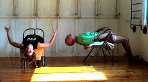 How To Sleep In A Chair A Chair For Yoga A Complete Guide To Iyengar Yoga Practice With