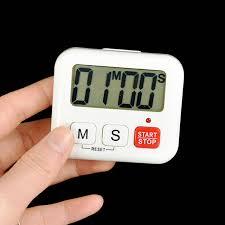 compte minute cuisine 1 pcs numérique lcd minuterie de cuisine cuisine horloge sport