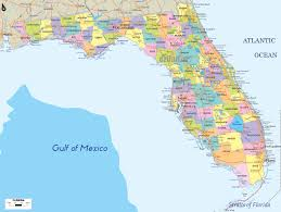 Map Of Northwest Florida by Florida Political Map