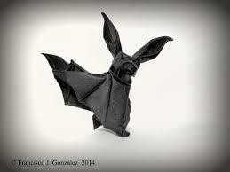 12 spooky origami halloween bats
