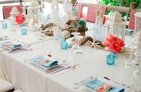 Wedding Reception Decoration Ideas Beach Themed Wedding Reception Decorations On Decorations With