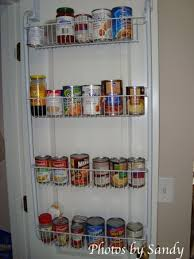 Over The Cabinet Spice Rack 17 Canned Food Storage Ideas To Organize Your Pantry