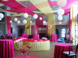 party decorations quinceanera table decoration and color ideas for quinceanera party