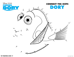 disney u0027s finding dory fun coloring pages and more sand and snow