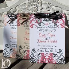 halloween wedding invitations and programs citrine designs