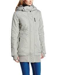 bench women u0027s parka rizzle b jacket grey neutral grey x
