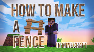 Minecraft How To Make A Bed Fence How To Make A Fence In Minecraft For You Information How To