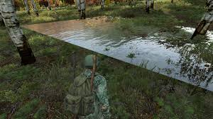 Map Of Chernarus T117819 Floating Water Trees Near Nw Chernarus Military Area