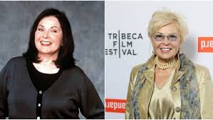 new look for roseanne barr 2015 with blonde hair what the cast of roseanne looks like today