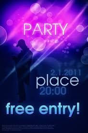 party poster template psd download free vector graphic download