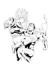 goku versus superman by stryfers on deviantart