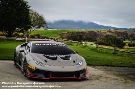 Lamborghini Huracan Ugly - lamborghini huracan super trofeo spotted ahead of pebble beach
