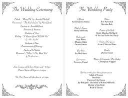 Program Wedding Mchardy Blaser Wedding Program Inside 30 July 2011 A Com U2026 Flickr
