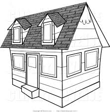 image of house clipart black and white 10428 house outline