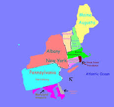 northeast united states map with states and capitals east states and capitals usa maps us country maps