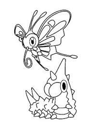 dessin à colorier du grand pokémon légendaire entei dessin