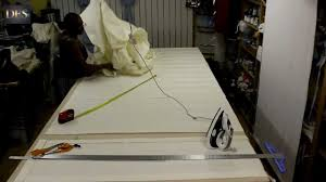 Making Roman Blinds How To Make Large Roman Blind Youtube