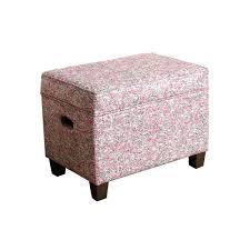 Printed Storage Ottoman Homepop Small Printed Storage Ottoman Pink Pink Products And