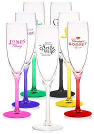 personalized glasses wedding personalized 6 oz libbey personal chagne flutes 8995