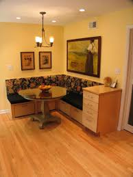 Kitchen Banquette Two Toned Maple Kitchen Remodel Indianapolis Remodeling Picture