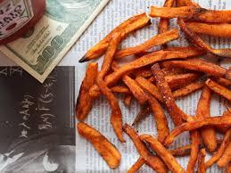 patate douce cuisiner frites de patates douces au paprika facile et pas cher recette