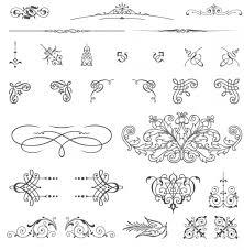 85 free vintage vector ornaments welovesolo