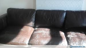 griffe canapé canapé 3 places maison du monde griffé cuir brun gratuit