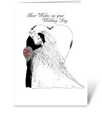 wedding wishes on wedding wishes black and white send this greeting card designed by