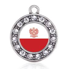 Flag Circle Polish Flag Circle Charm U2013 Inspiredcharms