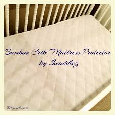 Bamboo Crib Mattress Bamboo Crib Mattress Protector By Swaddlez Review The Vegan