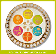 what s on a seder plate prêt à platter custom seder plates for the fashion set vogue