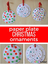 paper plate ornaments simply kinder