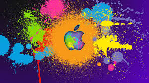 Paint Splatter Wallpaper by Apple Desktop Wallpapers Group 77
