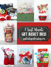 baking gift basket 7 last minute gift basket ideas
