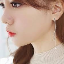 korean earings youniq basic korean wave cz ear end 4 12 2019 4 15 pm