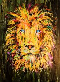 lion print soul of a lion print dona morgansoul of a lion print art for sale