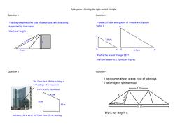 2d pythagoras multi step problems by alicecreswick teaching