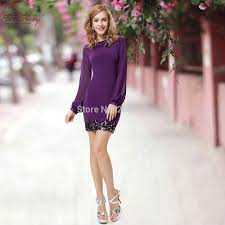 pink long sleeve short dresses casual dress images