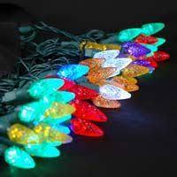 led christmas lights sorted by color novelty lights inc