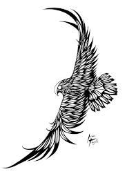 flying birds tattoo designs 11 fantastic falcon tattoo designs and ideas