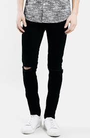 Mens Destroyed Skinny Jeans Mens Black Destroyed Jeans Oasis Amor Fashion