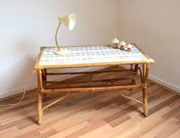 bureau en rotin les dernières créations un lit bébé des tables en rotin