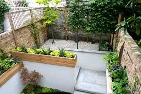 Gardens Ideas Designs For Narrow Gardens Alluring Designs For Small Gardens