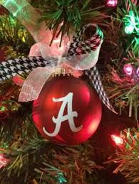 set of 3 of alabama ornaments by minnielynne on etsy