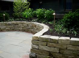 Ideas For Retaining Walls Garden by Lannon Stone Retaining Wall Dry Laid Landscape Walls