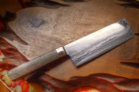Hand Forged Kitchen Knives Western Handle Japanese Hand Forged Knife Watanabe Blade