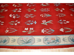 Rug 12 X 14 Very Large Red Handmade Woven Kilim On Sale From