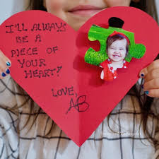 kid valentines of my heart kid card craft the soccer