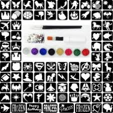 glitter tattoo kits from the beauty box boutique
