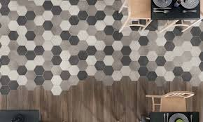 ragno rewind hexagon wall and floor tiles rubble tile